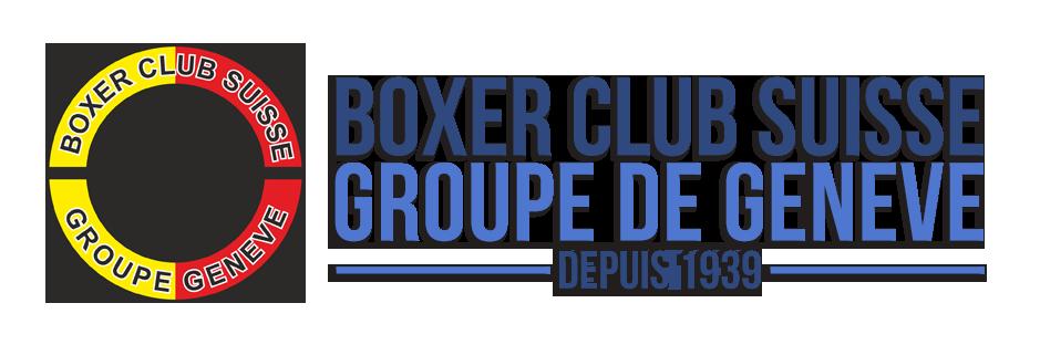 Boxer Club Suisse Groupe Genève